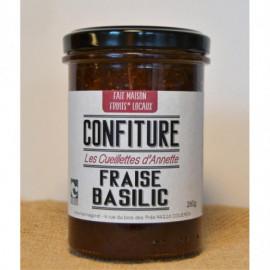 Confiture Fraise Basilic -...