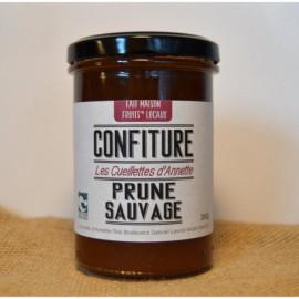 Confiture Prune Sauvage - 260g